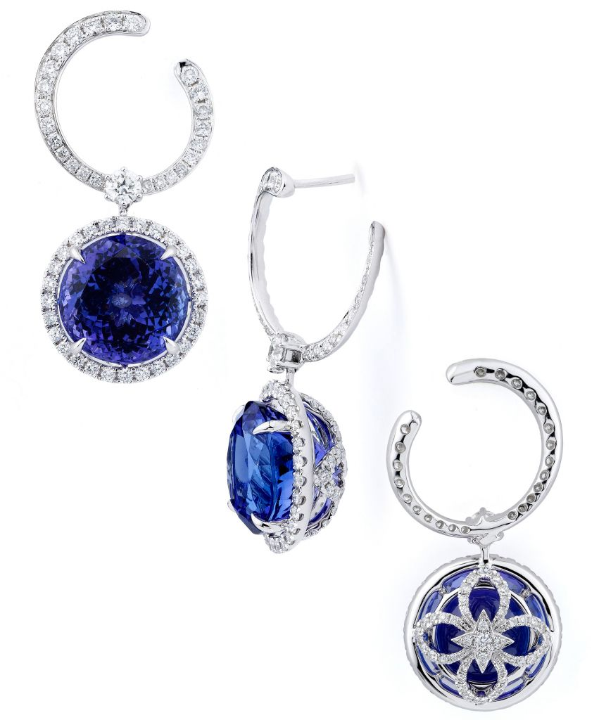 Supreme Jewelry tanzanite drop earrings