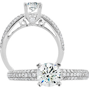 Amoro diamond ring