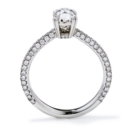 Anna Sheffield diamond ring