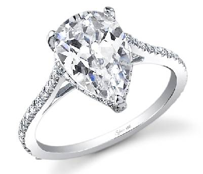Sylvie diamond ring