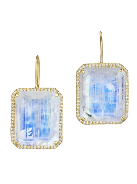 Lauren K rainbow moonstone earrings