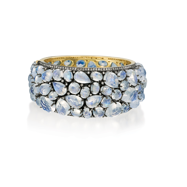 Rina Limor moonstone bangle bracelet