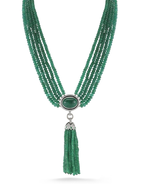 Ivanka Trump Lao Tong tassel necklace
