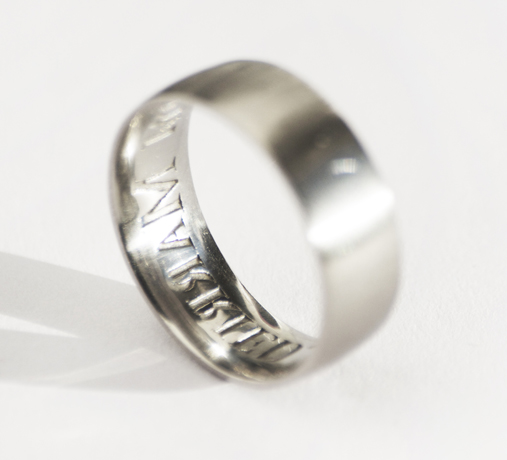 Anti-Cheating Wedding Band by TheCheeky.com