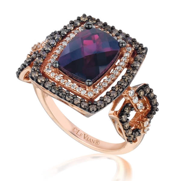 Le Vian Raspberry ring