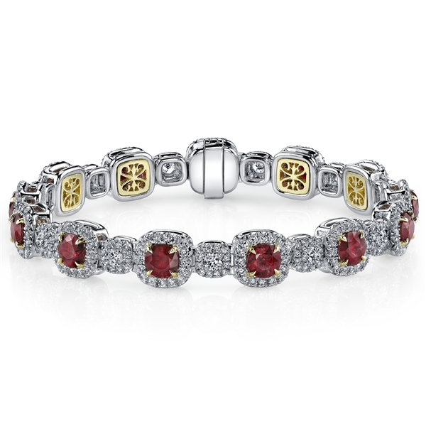 Omi Prive ruby bracelet