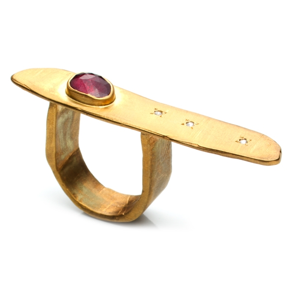 Natalie Frigo rectangle ring