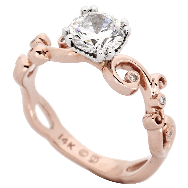 Jacob Bryan rose gold ring