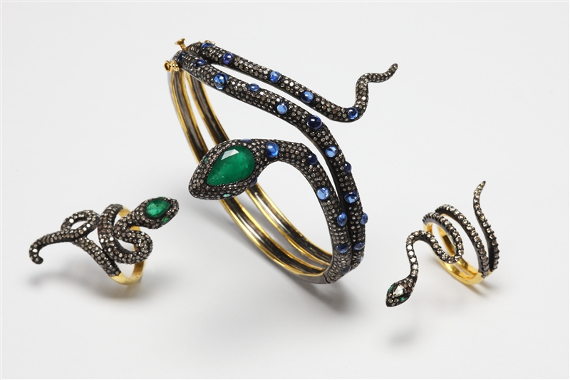 Rina Limor snake jewelry collection