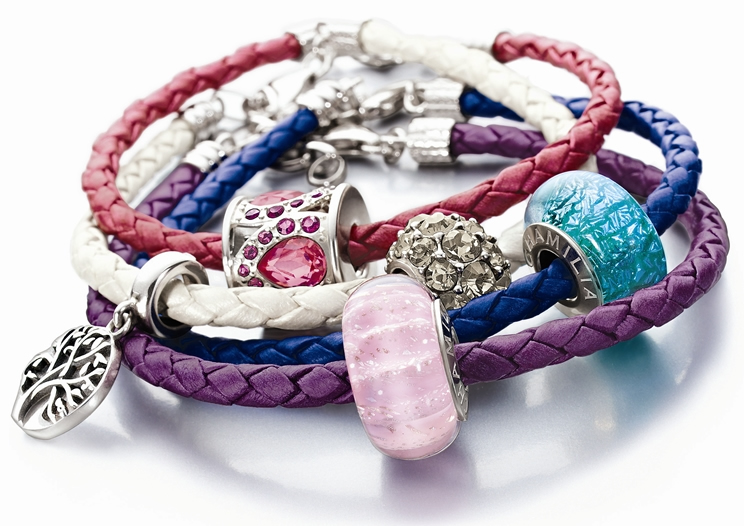 Chamilia leather bracelets
