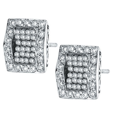 Charriol diamond earrings