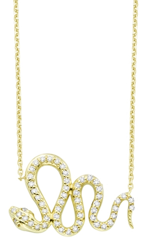 KC Designs diamond snake necklace