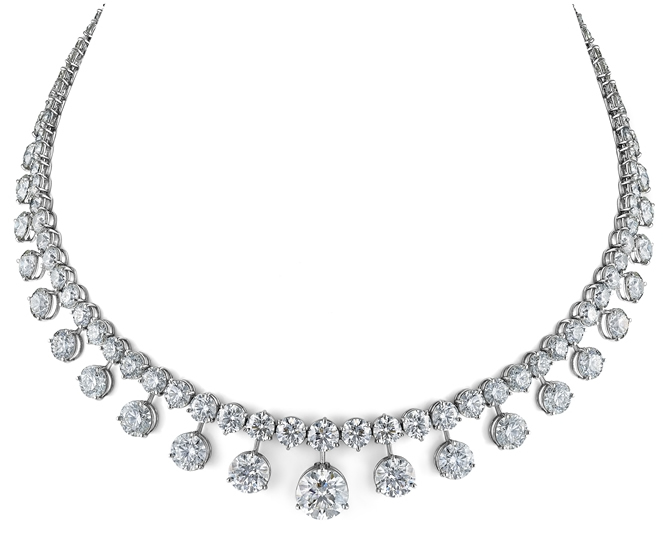 Lazare Kaplan 110th Anniversary necklace