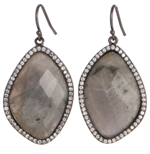Marcia Moran labradorite drop earrings