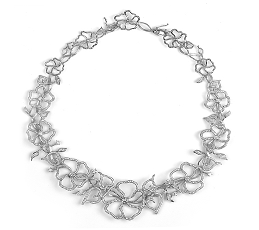 A. Jaffe diamond necklace