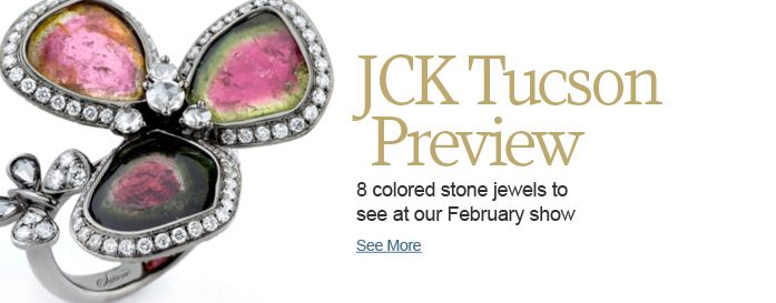 8 colored stone jewels to see at our February show