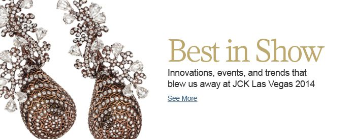 Innovations, events, and trends that blew us away at JCK Las Vegas 2014