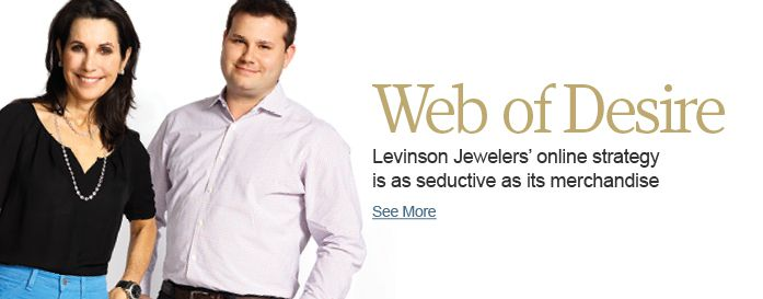 Levinson Jewelers' online strategy is as seductive as its merchandise
