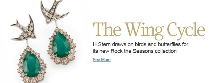 H.Stern draws on birds and butterflies for its new Rock the Seasons collection