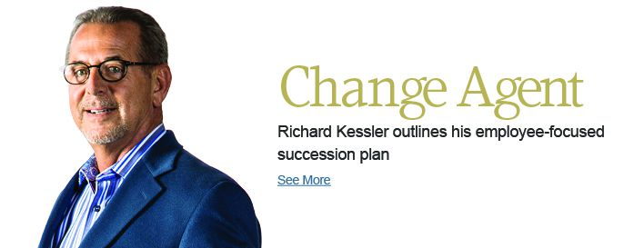 Richard Kessler outlines his employee-focused succession plan