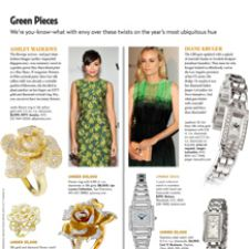 Diane Kruger and Ashley Madekwe Go Green
