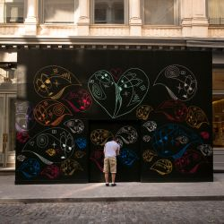 Tiffany Decorates SoHo Store With Street Art