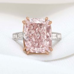 12.27 Carat Majestic Pink Diamond Goes on Sale for $7.85 Million