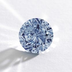 The Premier Blue, a 7.59 ct. fancy vivid blue diamond, will be sold at Sotheby's Hong Kong in October.