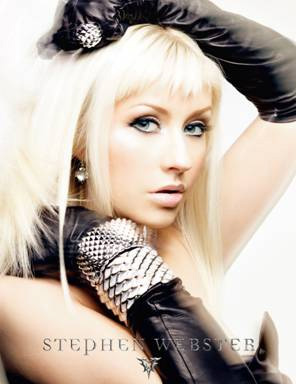 Christina Aguilera in Stephen Webster's new ad campaign