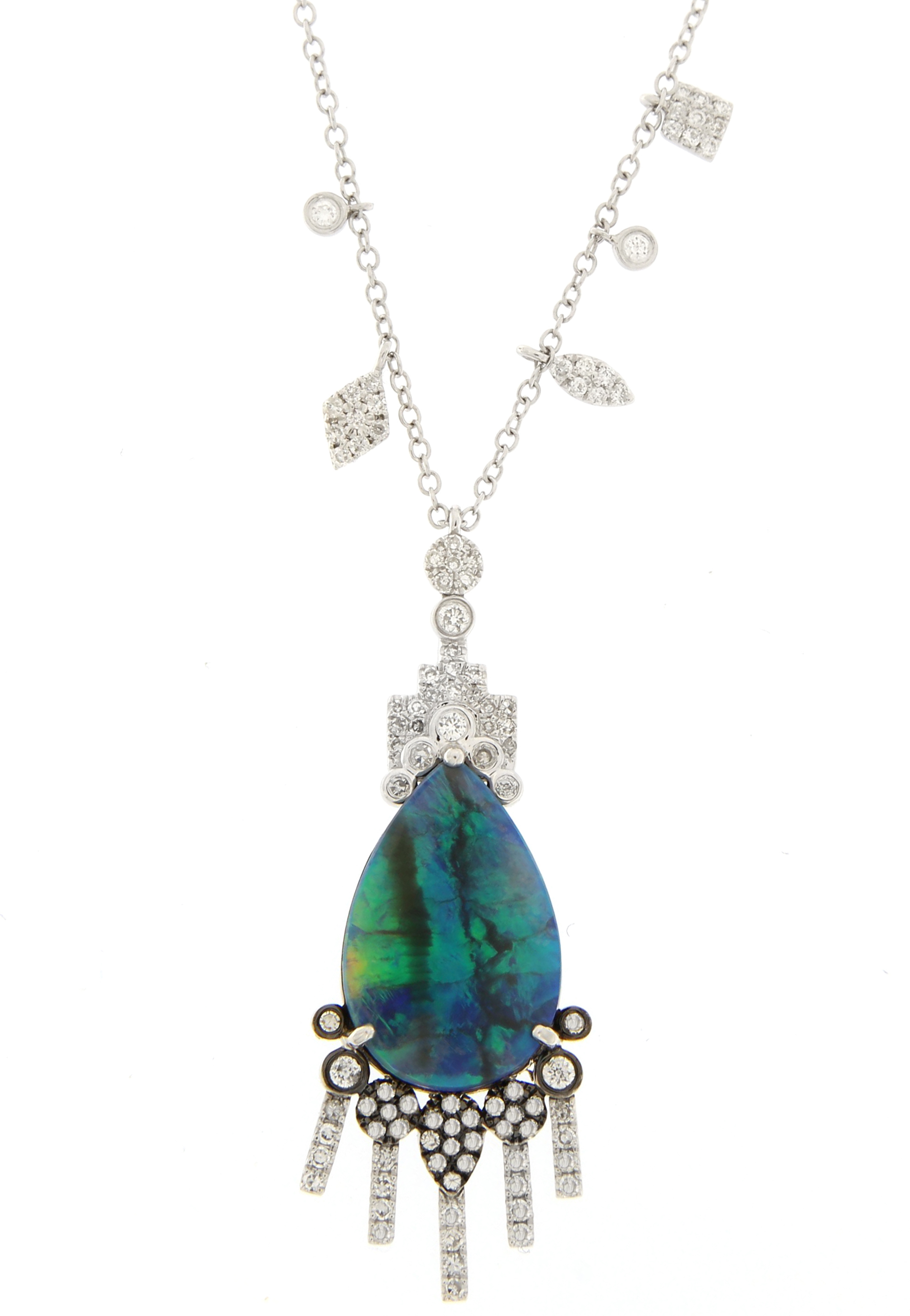 Meira T opal and diamond necklace | JCK On Your Market