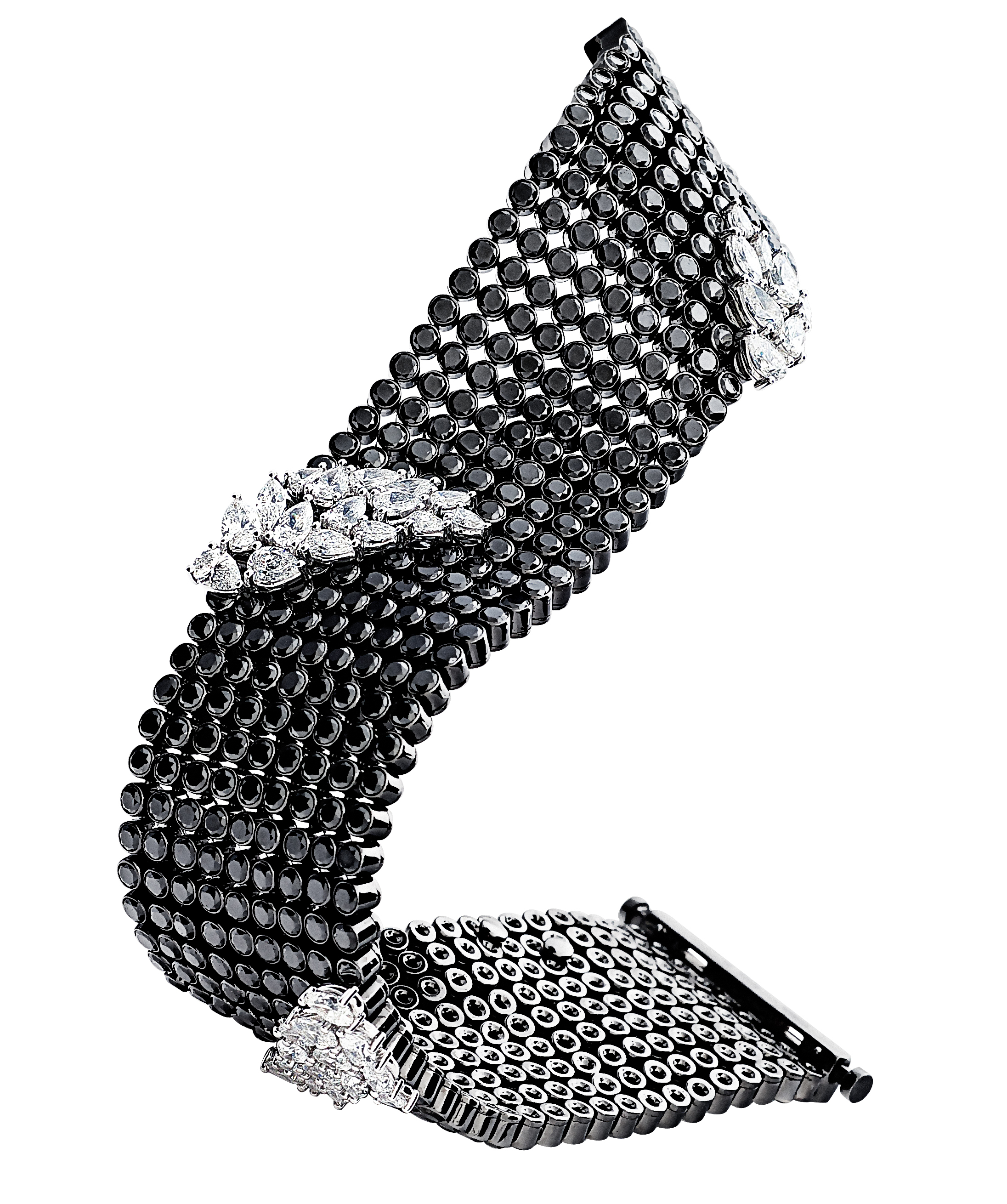 Gilan Intensive collection black diamond bracelet | JCK On Your Market