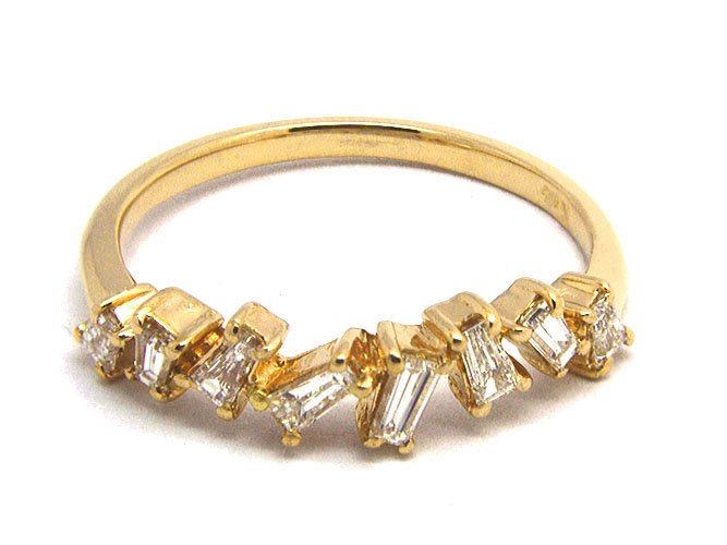 El Dorado baguette diamond ring | JCK On Your Market