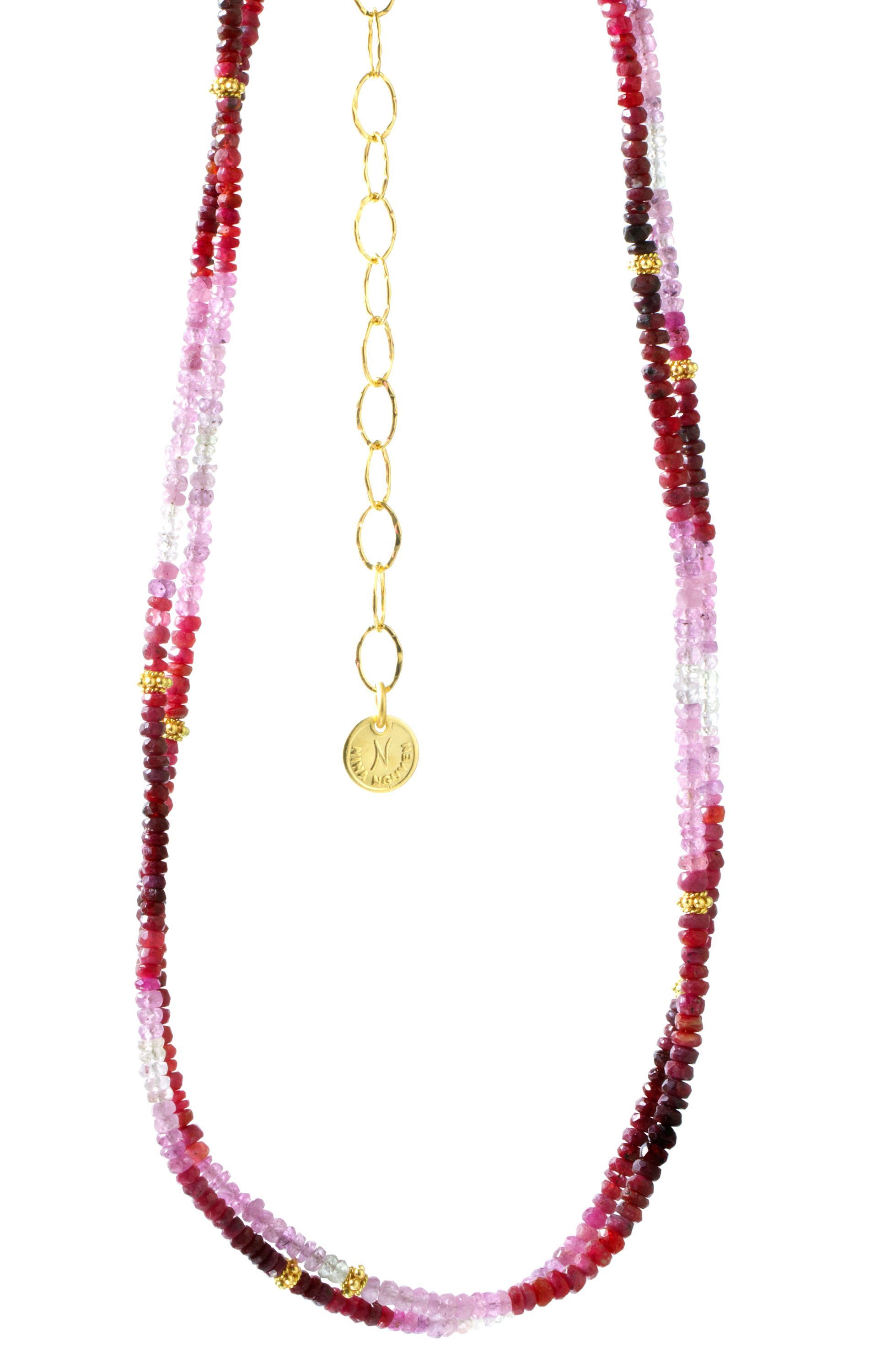 Nina Nguyen ruby bead Harmony necklace | JCK On Your Market