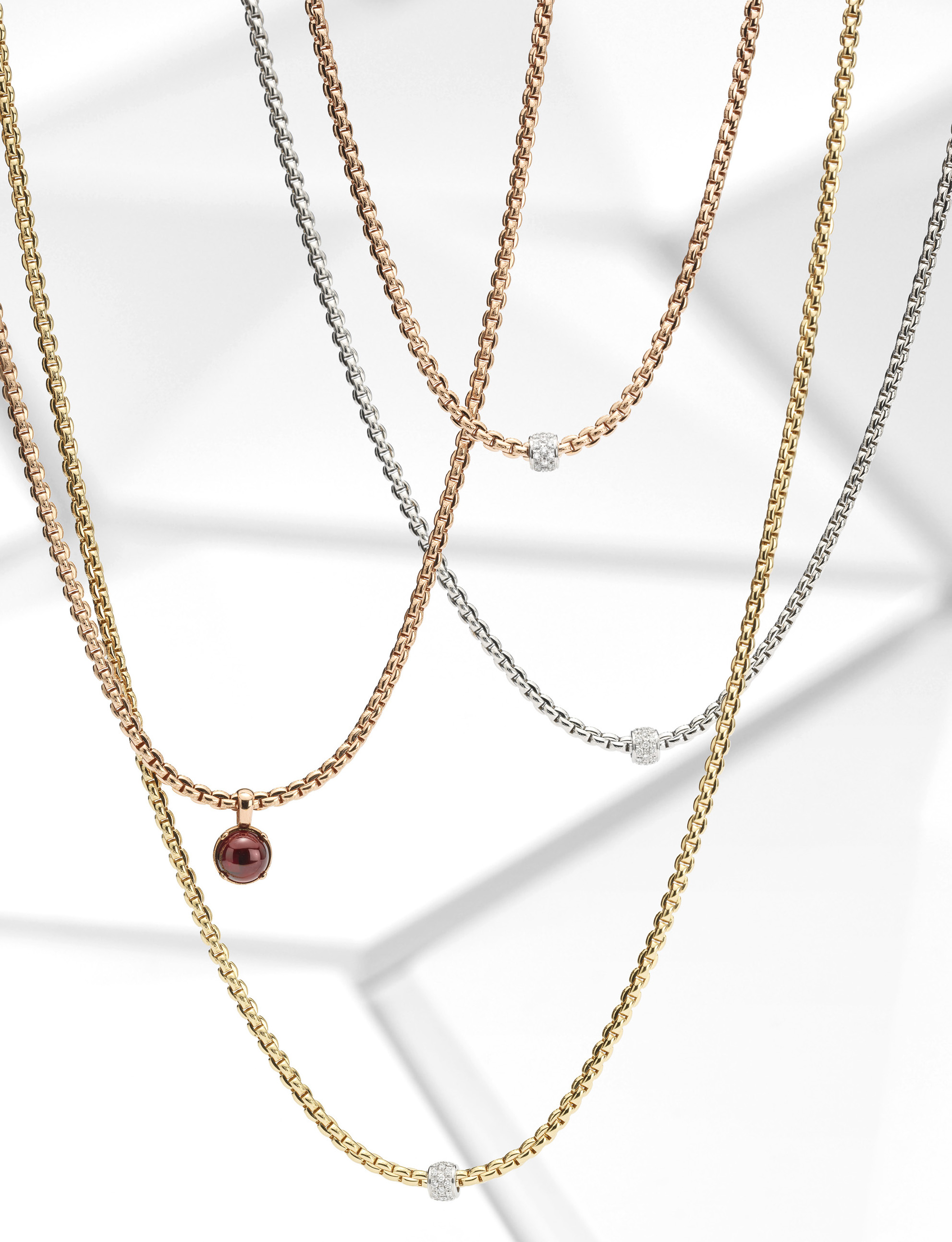 Fope Eka tiny collection necklaces   JCK On Your Market