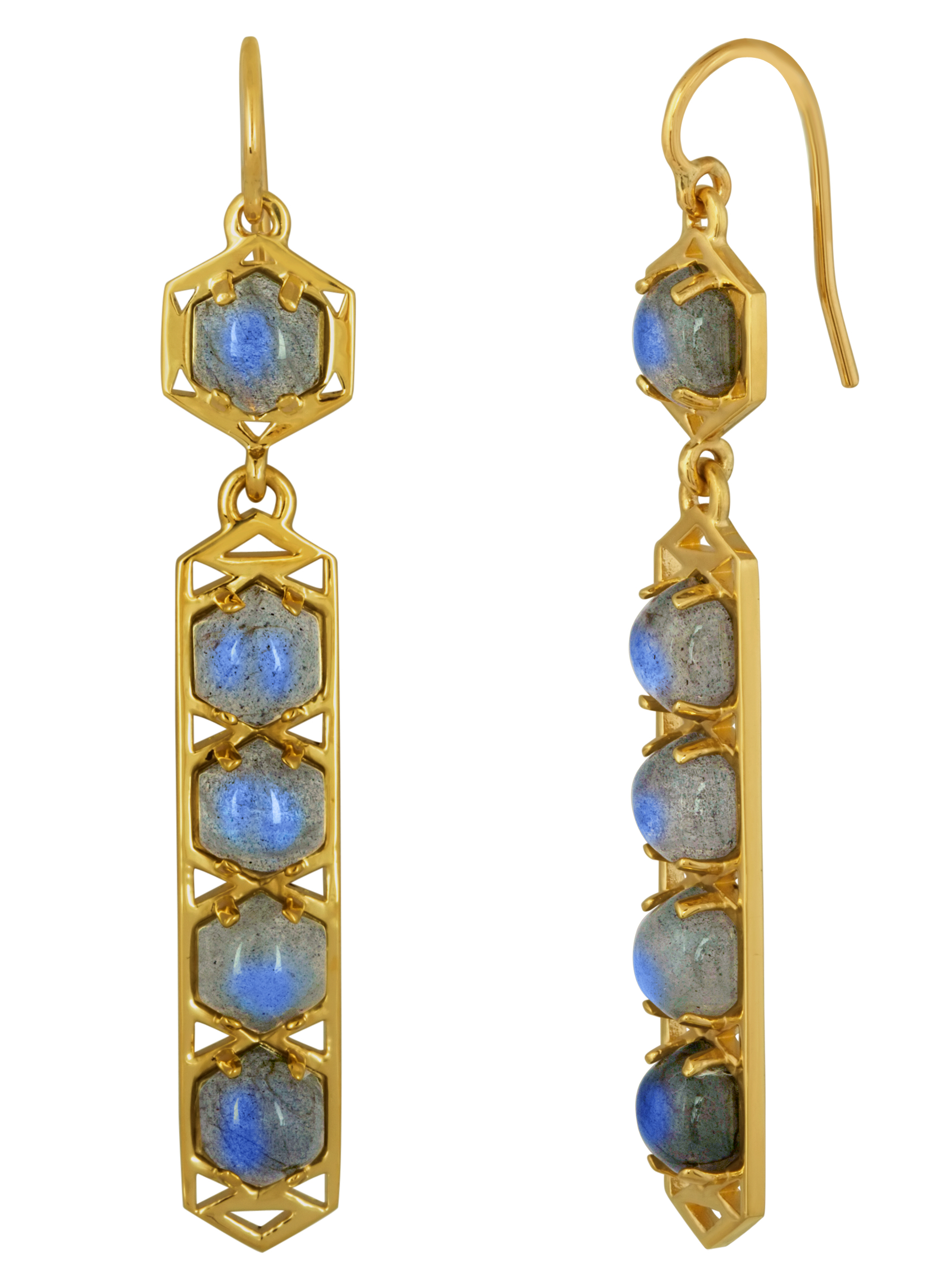 Amy Glaswand labradorite Ceres Stretto earrings #BRITTSPICK | JCK On Your Market