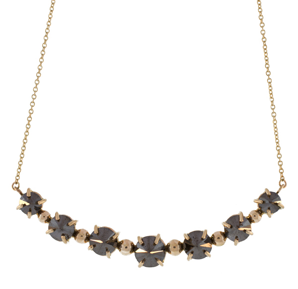 Lulu Designs black diamond Dream necklace | JCK On Your Market