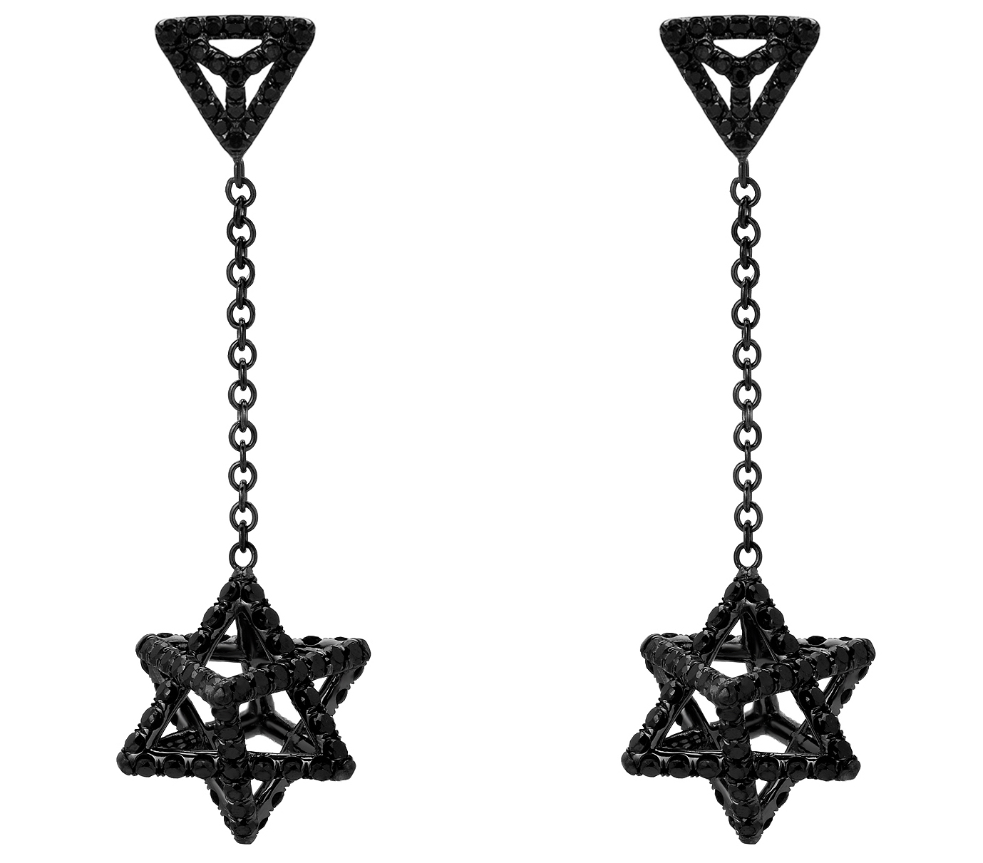 Merkaba Light drop earrings | JCK On Your Market