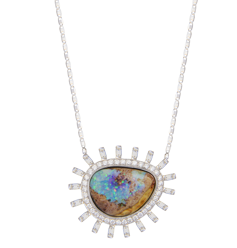M. Spalten Frozen Ray opal pendant | JCK On Your Market