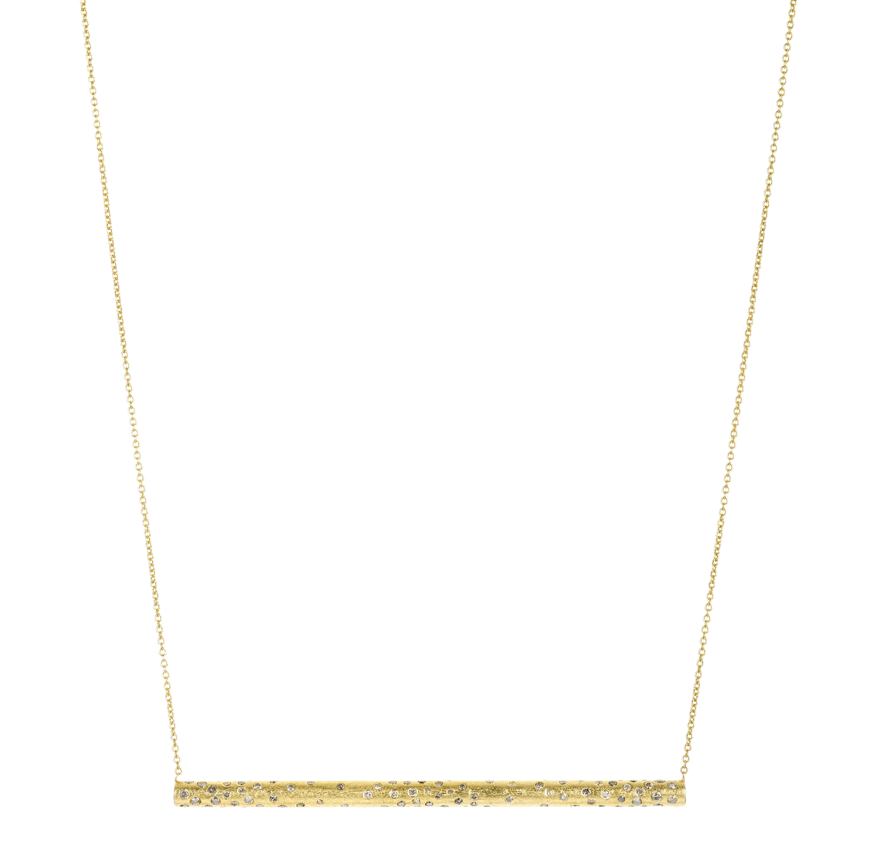 Todd Reed diamond bar necklace | JCK On Your Market