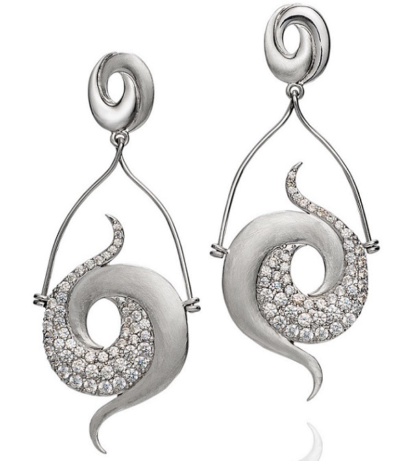 Martha Seely Nebula collection Galaxy earrings #BrittsPick | JCK On Your Market