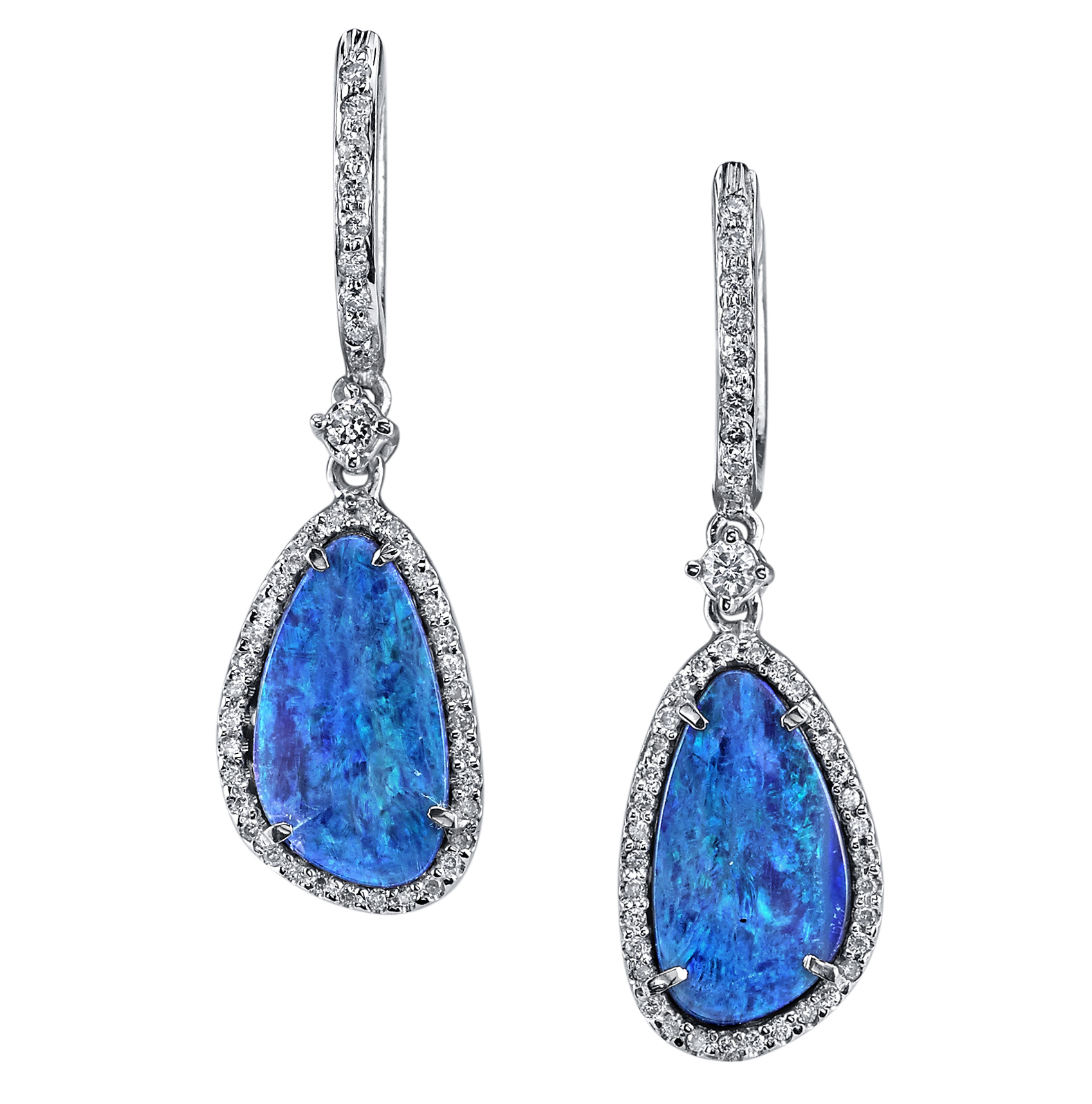 Borgioni opal drop earrings | JCK On Your Market