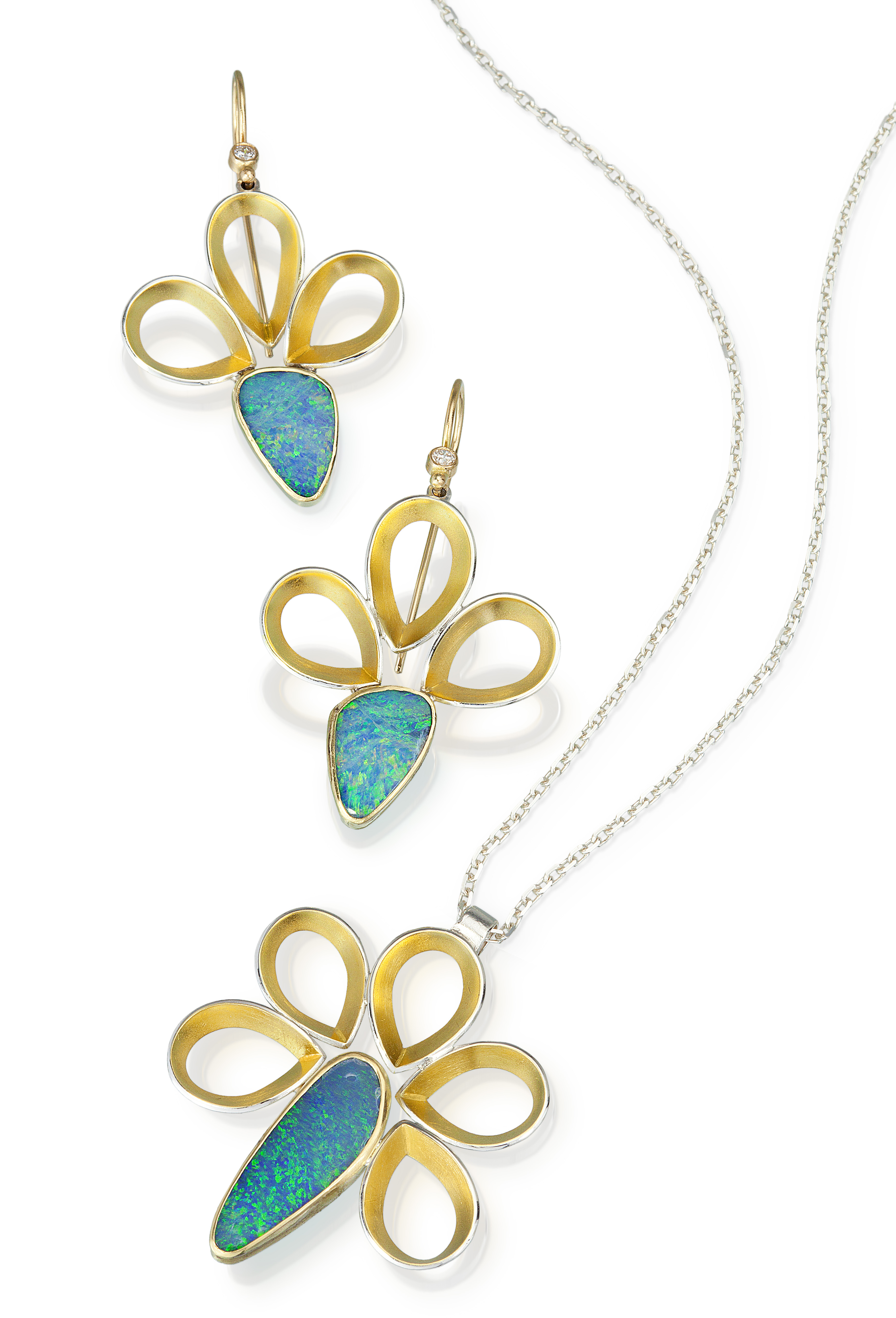Thea Izzi Pavone opal jewelry set | JCK On Your Market