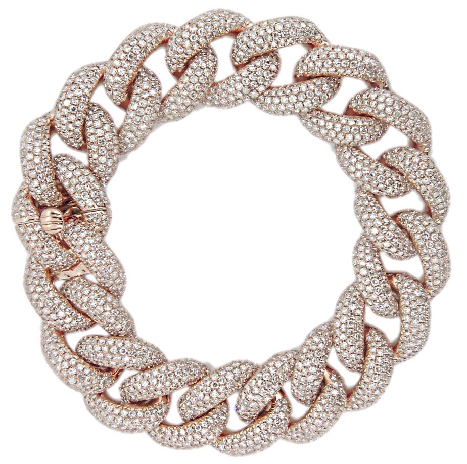 Shay Jewelry Essentials jumbo diamond link bracelet #BRITTSPICK | JCK On Your Market