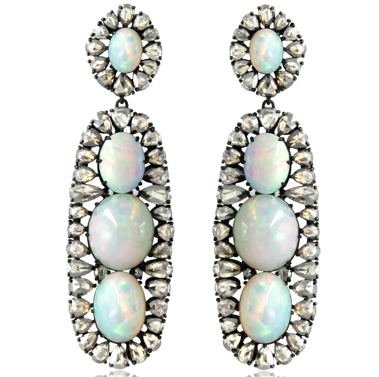 Sutra opal drop earrings | JCK On Your Market