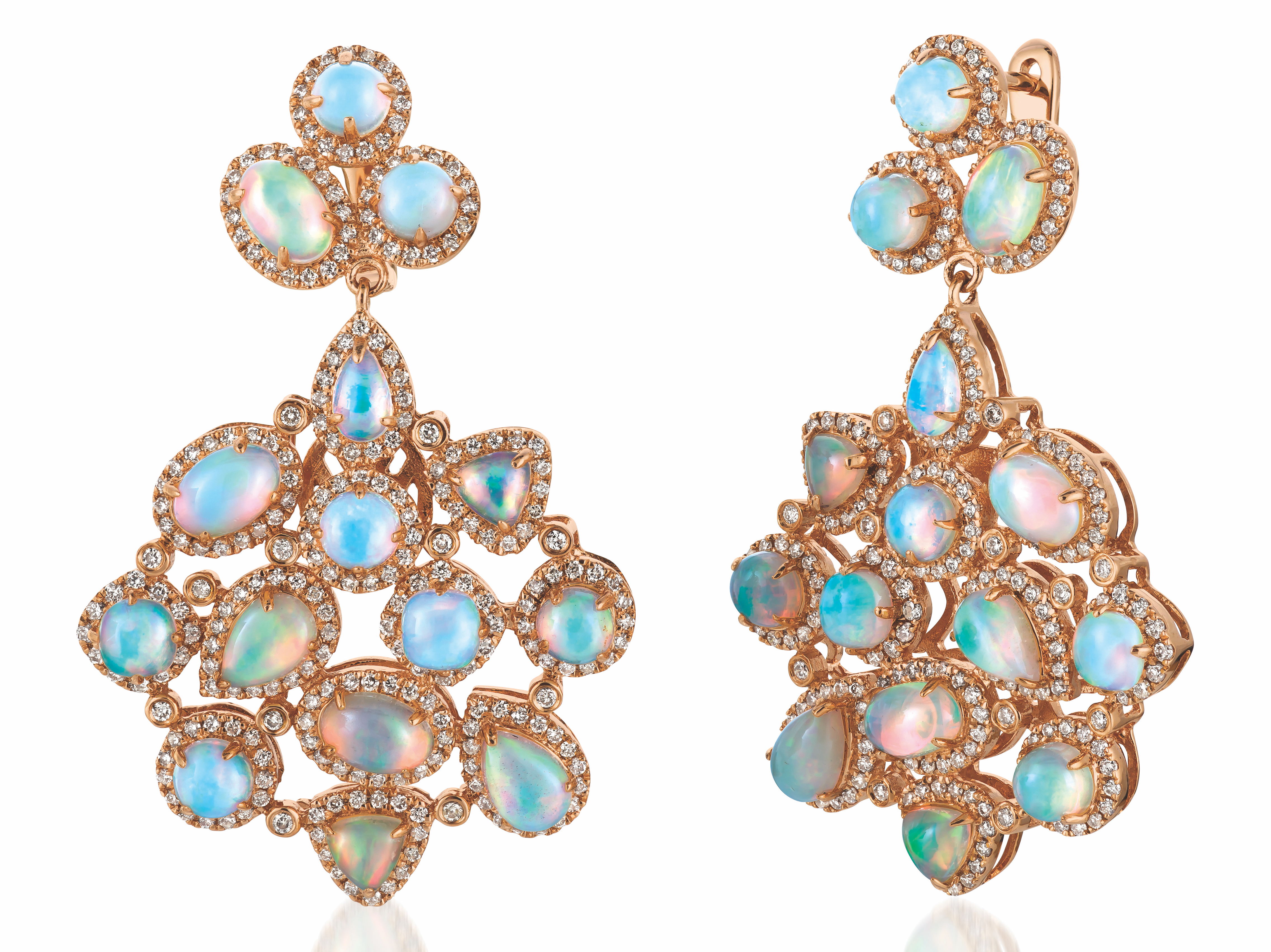 Le Vian opal cluster earrings | JCK On Your Market