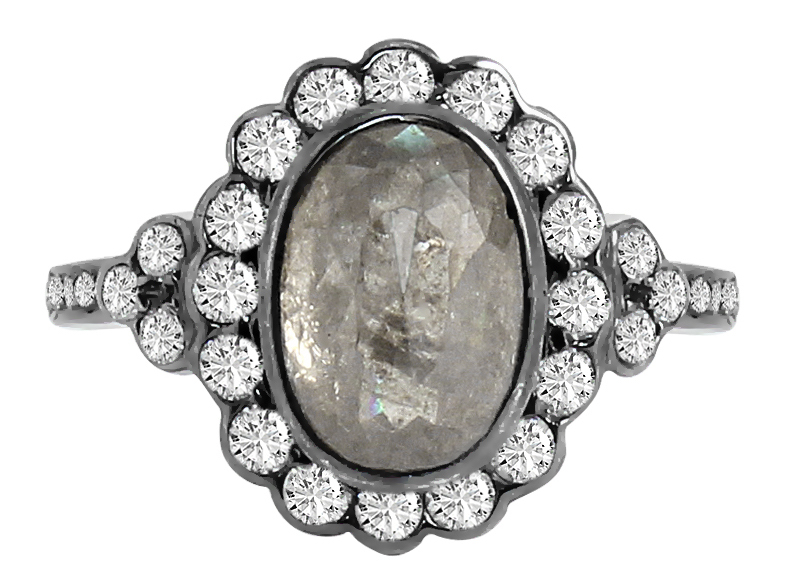 Vivaan Bridals icy rose-cut diamond ring | JCK On Your Market
