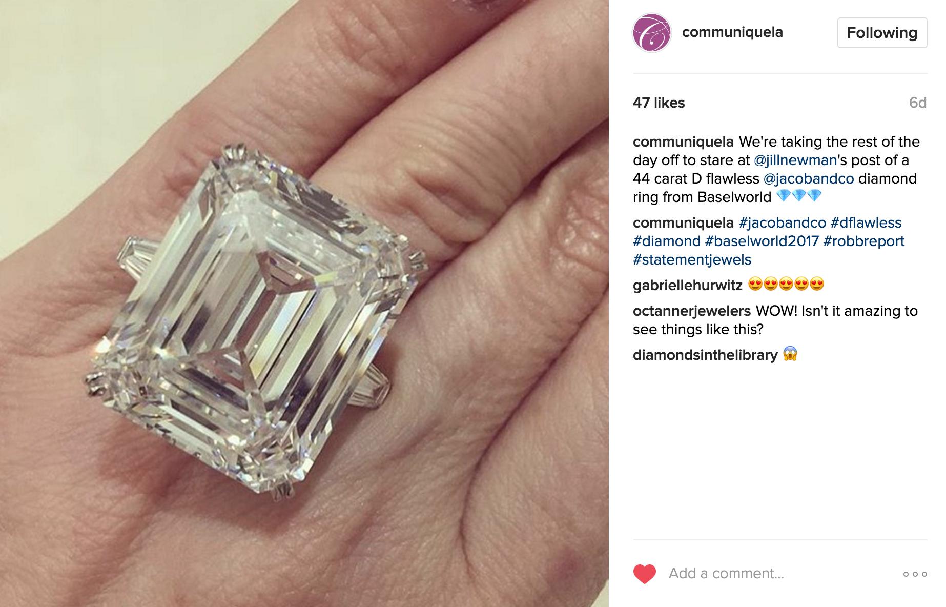 Communique Instagram | JCK Social Setting
