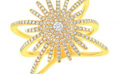 Shy Creation Kate starburst ring | JCK