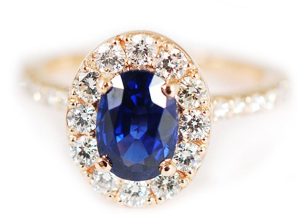 Abby Sparks Annabelle sapphire ring | JCK On Your Market