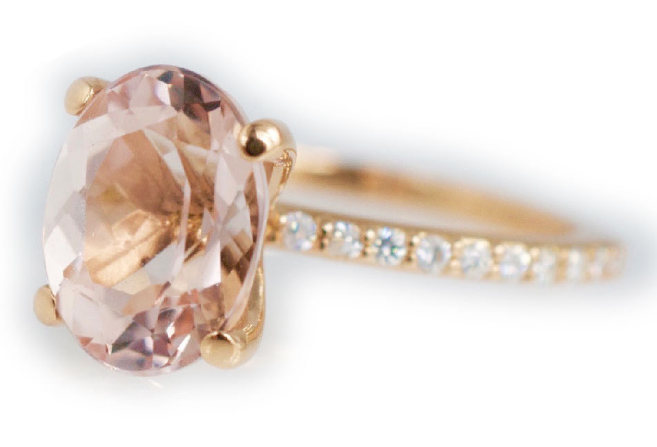 Abby Sparks Krystin morganite ring | JCK On Your Market